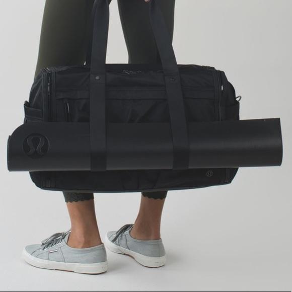 lululemon athletica Handbags - LULULEMON Urban Warrior black duffel bag